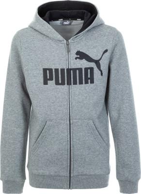 Фото - Толстовку для мальчиков Puma, размер 140 серого цвета