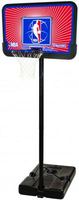 """Купить со скидкой Баскетбольная стойка Spalding 2012 NBA Logoman 44"""" Composite"""