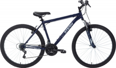 Stern Dynamic 1.0 26 (2018)Горный велосипед станет удачным выбором для новичков в велоспорте.<br>Материал рамы: Высокопрочная сталь; Размер рамы: 20; Амортизация: Hard tail; Конструкция рулевой колонки: Неинтегрированная; Наименование вилки: HL BRAVO-325E, 26, шток 25,4 мм,; Конструкция вилки: Пружинно-эластомерная; Ход вилки: 50 мм; Материал педалей: Пластик; Система: Prowheel; Количество скоростей: 18; Наименование переднего переключателя: Sunrace FDM2S; Наименование заднего переключателя: Sunrace RDM2T; Конструкция педалей: Классические; Наименование манеток: SUNRACE TSM-28; Конструкция манеток: Вращающиеся ручки; Тип переднего тормоза: Ободной; Тип заднего тормоза: Ободной; Материал втулок: Сталь; Диаметр колеса: 26; Тип обода: Одинарный; Материал обода: Алюминий; Наименование покрышек: Wanda 26 x 1,95; Материал руля: Сталь; Название шифтера: Sunrace TSM-28; Конструкция руля: Изогнутый; Регулировка руля: Да; Регулировка седла: Да; Амортизационный подседельный штырь: Нет; Сезон: 2018; Максимальный вес пользователя: 90 кг; Вид спорта: Велоспорт; Технологии: Hi-ten steel; Производитель: Stern; Артикул производителя: 18DYN120T; Срок гарантии: 2 года; Вес, кг: 16; Страна производства: Россия; Размер RU: 175-185;