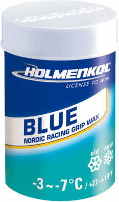 Мазь держания для беговых лыж HOLMENKOL GripBlue