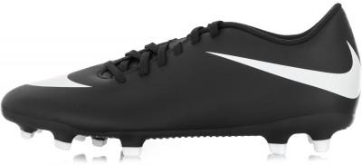 Бутсы мужские Nike Bravata II FGМужские бутсы nike bravata ii (fg) для натуральных и искусственных газонов для максимальной скорости и контроля мяча.<br>Пол: Мужской; Возраст: Взрослые; Вид спорта: Футбол; Тип поверхности: Натуральный и искусственный газон; Способ застегивания: Шнуровка; Материал верха: 100 % синтетическая кожа; Материал подкладки: 100 % текстиль; Материал подошвы: 100 % пластик; Производитель: Nike; Артикул производителя: 844436-001; Страна производства: Вьетнам; Размер RU: 39,5;