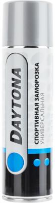 Спортивная заморозка Daytona, 335 млХолодо- и термотерапия<br>Универсальная спортивная заморозка в виде спрея. Спрей наносится на кожу, откуда в дальнейшем быстро испаряется, эффективно охлаждая болезненный участок.