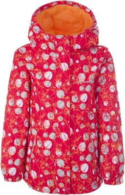 Куртка для девочек Outventure, размер 116Куртки <br>Теплая куртка outventure для самых маленьких путешественниц. Защита от влаги ткань с водоотталкивающей обработкой add dry water resistant.