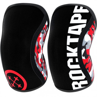 Наколенники RockTape Assassins, Red Camo 5мм