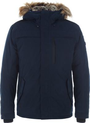Куртка утепленная мужская Luhta MainioМужская куртка luhta - отличный выбор для путешествий и долгих прогулок. Сохранение тепла наполнитель из синтетического пуха (430 г) хорошо греет в холодные дни.<br>Пол: Мужской; Возраст: Взрослые; Вид спорта: Путешествие; Вес утеплителя на м2: 430 г/м2; Длина по спинке: 74 см; Водонепроницаемость: 5000 мм; Паропроницаемость: 5000 г/м2/24 ч; Покрой: Прямой; Дополнительная вентиляция: Нет; Проклеенные швы: Нет; Длина куртки: Короткая; Капюшон: Не отстегивается; Мех: Искусственный; Количество карманов: 4; Водонепроницаемые молнии: Нет; Технологии: Breathable, WaterProof, WindProof; Производитель: Luhta; Артикул производителя: 38500345L7V; Страна производства: Китай; Материал верха: 90 % полиэстер, 10 % полиамид; Материал подкладки: 100 % полиамид; Материал утеплителя: 100 % полиэстер; Размер RU: 50;