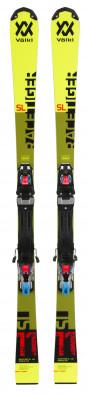 Горные лыжи детские + крепления Volkl RACETIGER SL R JR. + Race 10 TCX