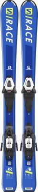 Горные лыжи детские + крепления Salomon S/RACE Jr + C5 GW