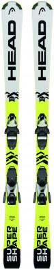 Горные лыжи детские Head Supershape SLR2 + SLR 7.5 AC Brake 78