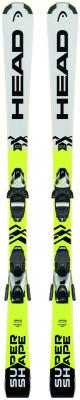 Head Supershape SLR2 + SLR 7.5 AC Brake 78 (17/18)Отличные карвинговые лыжи от head для прогрессирующих детей и юниоров с опытом катания скорость модель для ребят, обожающих скорость и крутые повороты.<br>Сезон: 2017/2018; Назначение: Подготовленные склоны; Уровень подготовки: Прогрессирующий; Крепления в комплекте: Да; Пол: Мужской; Возраст: Дети; Вид спорта: Горные лыжи; Конструкция: Гибрид; Геометрия: 124 - 71 - 102 мм; Радиус бокового выреза: 11,1 м; Дуги: Средние; Прогиб: Смешанный; Тип прогиба: ERA 2.0 / 10%; Жесткость: Низкая; Сердечник: Комбинированный композитный; Усиление конструкции: Титанал, графен; Система креплений: Платформа; Производитель креплений: Head International GmbH; Модель креплений: SLR 7.5 AC; Усилие срабатывания крепления: 2-7,5 DIN; Ширина ски-стопа: 78 мм; Конструкция носка: SX Lite Toe with TRP System, AFS Jr System/Full Diagonal; Конструкция пятки: SX Junior Heel; Высота крепления: 27 мм; Регулировка размера крепления: Да; Рекомендуемый вес пользователя: 20-75 кг; Технологии: ERA 2.0; Производитель: Head; Артикул производителя: 314187K; Срок гарантии на лыжи: 1 год; Срок гарантии на крепления: 1 год; Размер RU: 150;