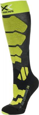 Гольфы X-Socks, 1 параSki control x-socks помогают эффективно передавать энергию на лыжи и оптимально регулирует климат внутри ботинок.<br>Пол: Мужской; Возраст: Взрослые; Вид спорта: Горные лыжи; Плоские швы: Да; Дополнительная вентиляция: Да; Производитель: X-Socks; Артикул производителя: X100090-G729; Страна производства: Италия; Материалы: 35 % полиэстер, 34 %полиамид, 20 % акрил, 9 % полипропилен, 2 % эластан; Размер RU: 42-44;