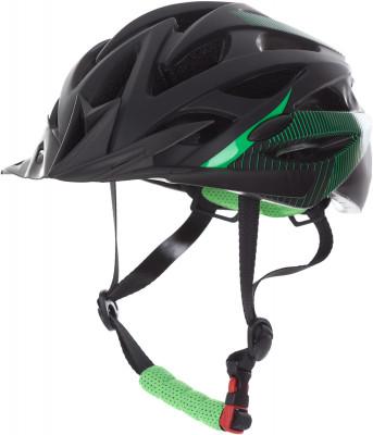 Шлем велосипедный CyclotechВелосипедный шлем с конструкцией glue-on особенности модели вентиляционные отверстия гарантируют отличную циркуляцию воздуха при любой скорости передвижения; шлем соответств<br>Конструкция: glue-on; Вентиляция: Принудительная; Регулировка размера: Да; Тип регулировки размера: Поворотное кольцо; Материал внешней раковины: ПВХ; Материал внутренней раковины: Вспененный пенополистирол; Материал подкладки: Полиэстер; Сертификация: EN 1078; Вес, кг: 0,25; Пол: Мужской; Возраст: Взрослые; Производитель: Cyclotech; Артикул производителя: CHHY-M-M; Срок гарантии: 6 месяцев; Страна производства: Китай; Размер RU: 54-58;