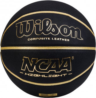 Мяч баскетбольный Wilson NCAA HIGHLIGHT GOLD