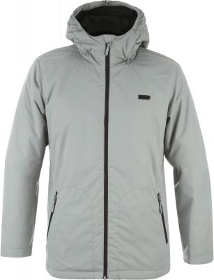 Куртка утепленная мужская TermitМужская сноубордическая куртка от termit.<br>Пол: Мужской; Возраст: Взрослые; Вид спорта: Сноубординг; Наличие мембраны: Да; Регулируемые манжеты: Нет; Водонепроницаемость: 1500 мм; Паропроницаемость: 1500 г/м2/24 ч; Защита от ветра: Да; Вес утеплителя на м2: 100 г/м2; Покрой: Прямой; Дополнительная вентиляция: Да; Проклеенные швы: Нет; Длина куртки: Средняя; Датчик спасательной системы: Нет; Капюшон: Не отстегивается; Мех: Отсутствует; Снегозащитная юбка: Да; Количество карманов: 3; Карман для маски: Нет; Карман для Ski-pass: Да; Выход для наушников: Нет; Длина по спинке: 79 см; Водонепроницаемые молнии: Нет; Артикулируемые локти: Да; Совместимость со шлемом: Нет; Материал верха: 100 % полиэстер; Материал подкладки: 100 % полиэстер; Материал утеплителя: 100 % полиэстер; Производитель: Termit; Артикул производителя: EJAM15922X; Страна производства: Китай; Размер RU: 54;