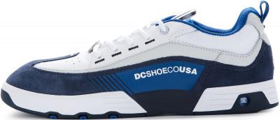 Кеды мужские DC SHOES Legacy98 SLM, размер 41Кеды <br>Кеды legacy 98 slim от dc shoes для уникального образа в спортивном стиле. Комфорт язычок и валик вокруг лодыжки с пенным наполнителем обеспечивают удобную посадку.