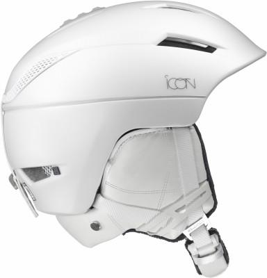 Шлем женский Salomon Icon2 C. AirКомпактный шлем salomon. Защита конструкция внутреннего слоя шлема eps 4d поглощает на 30 % больше энергии удара, чем это требуется стандартом ce-en 1077.<br>Пол: Женский; Возраст: Взрослые; Вид спорта: Горные лыжи; Конструкция: In-mould; Вентиляция: Регулируемая; Сертификация: CE-EN1077 / ASTM F-2040; Регулировка размера: Есть; Тип регулировки размера: Custom Air; Материал внешней раковины: Пластик; Материал внутренней раковины: Пенополистирол; Материал подкладки: Полиэстер; Технологии: Advanced Skin ActiveDry, Custom Air, EPS 4D; Производитель: Salomon; Артикул производителя: L39124000; Срок гарантии: 2 года; Страна производства: Китай; Размер RU: 56-59;