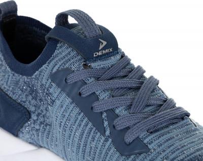 Фото 7 - Кроссовки женские Demix Sprinter Knit, размер 35 синего цвета