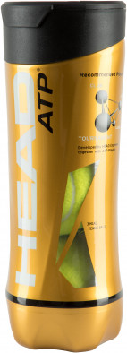 Набор теннисных мячей Head Atp, 3 шт