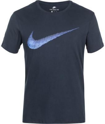Футболка мужская Nike Sportswear SwooshМужская футболка в спортивном стиле от nike. Уникальный дизайн спереди расположен фирменный логотип swoosh. Натуральные материалы модель полностью выполнена из хлопка.<br>Пол: Мужской; Возраст: Взрослые; Вид спорта: Спортивный стиль; Покрой: Прямой; Материалы: 100 % хлопок; Производитель: Nike; Артикул производителя: 707456-475; Страна производства: Египет; Размер RU: 50-52;