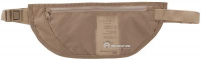 Кошелек OutventureПоясная сумка outventure позволяет удобно расположить все необходимое для путешествий. Сумку можно носить под одеждой, не опасаясь за сохранность содержимого.<br>Вес, кг: 0,07; Размеры (дл х шир х выс), см: 26 х 11 х 0,5; Материалы: 100 %полиэстер; Вид спорта: Кемпинг; Производитель: Outventure; Артикул производителя: IE307T1; Срок гарантии: 2 года; Страна производства: Китай; Размер RU: Без размера;