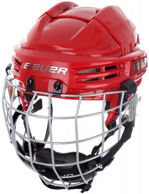 Шлем хоккейный детский Bauer Re-Akt 100Детская модель хоккейного шлема от bauer. Модель обеспечивает максимальную защиту головы и рекомендована для игры в хоккей экспертного уровня.<br>Пол: Мужской; Возраст: Дети; Вид спорта: Хоккей; Уровень подготовки: Эксперт; Материал подкладки: SUSPEND-TECH liner system, XRD foam; Конструкция: Hard shell; Регулировка размера: Да; Тип регулировки размера: С помощью клипс; Материал внешней раковины: Ударопрочный пластик; Материал корпуса: Ударопрочный пластик; Сертификация: CSA, HECC, CE.; Вентиляция: Принудительная; Вес, кг: 0,708; Производитель: Bauer; Артикул производителя: 1045725; Срок гарантии: 1 год; Страна производства: Таиланд; Размер RU: 48,5-54;