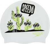 Шапочка для плавания детская Speedo Junior Slogan