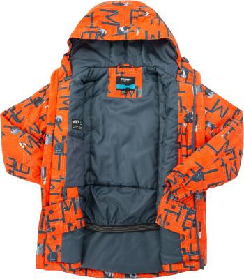 Фото 6 - Куртку утепленная для мальчиков Termit, размер 164 красного цвета