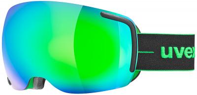 Маска Uvex Big 40 FMГорнолыжная маска от uvex, созданная специально для фрирайда. Маску рекомендуется использовать в солнечную погоду.<br>Сезон: 2017/2018; Пол: Мужской; Возраст: Взрослые; Вид спорта: Горные лыжи; Погодные условия: Солнце; Защита от УФ: Да; Цвет основной линзы: Зеленый; Поляризация: Нет; Вентиляция: Да; Покрытие анти-фог: Да; Совместимость со шлемом: Да; Сменная линза: Опционально; Материал линзы: Поликарбонат; Материал оправы: Полиуретан; Конструкция линзы: Двойная; Форма линзы: Сферическая; Возможность замены линзы: Есть; Производитель: Uvex; Технологии: Supravision; Артикул производителя: 0441; Срок гарантии: 2 года; Страна производства: Германия; Размер RU: Без размера;