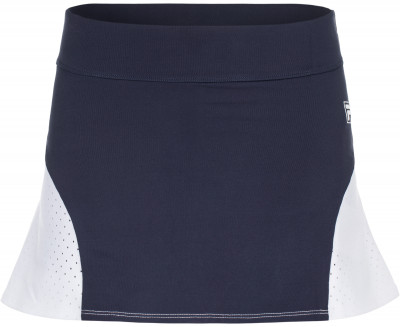 Юбка-шорты для девочек Fila, размер 164Одежда для девочек<br>Удобная юбка для юной теннисистки, выполненная в фирменном стиле filа. Комфорт плоские швы не натирают кожу.