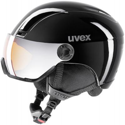Шлем Uvex 400 VisorШлем с визором из поликарбоната от uvex. Защита конструкция inmould делает шлем одновременно легким и прочным, визор защищает глаза от уф-лучей, ветра и снега.<br>Пол: Мужской; Возраст: Взрослые; Вид спорта: Горные лыжи; Конструкция: In-mould; Вентиляция: Регулируемая; Сертификация: EN 1077 B; Регулировка размера: Есть; Тип регулировки размера: Поворотное кольцо; Материал внешней раковины: Поликарбонат; Материал внутренней раковины: Пенополистирол; Материал подкладки: Полиэстер; Технологии: IAS, Natural Sound; Производитель: Uvex; Артикул производителя: 6217; Срок гарантии: 2 года; Страна производства: Китай; Размер RU: 58-61;