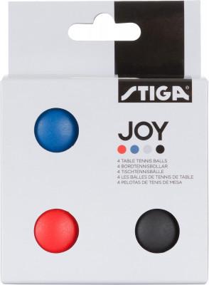 Мячи для настольного тенниса Stiga JOY, 4 шт., размер Без размера