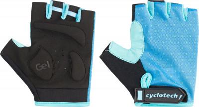Перчатки велосипедные Cyclotech HoyaЗащита<br>Велосипедные перчатки cyclotech не дают рукам скользить на руле. Особенности модели: гасят неприятные вибрации; комфортная посадка; хорошая вентиляция.