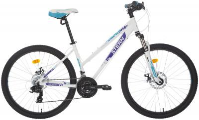 Stern Mira 2.0 26 (2018)Женская модель горного велосипеда с дисковыми тормозами - отличный выбор для активного отдыха.<br>Материал рамы: Алюминиевый сплав; Размер рамы: 18; Амортизация: Hard tail; Конструкция рулевой колонки: Неинтегрированная; Наименование вилки: 565D 26 1шток 28,6 мм; Конструкция вилки: Пружинно-эластомерная; Ход вилки: 80 мм; Материал педалей: Пластик; Система: Prowheel; Количество скоростей: 21; Наименование переднего переключателя: Shimano Tourney FD-TY300; Наименование заднего переключателя: Shimano TY-300; Конструкция педалей: Классические; Наименование манеток: Shimano Tourney ST-EF41, EZ-Fire; Конструкция манеток: Триггерные двурычажные; Тип переднего тормоза: Дисковый механический; Тип заднего тормоза: Дисковый механический; Материал втулок: Алюминий; Диаметр колеса: 26; Тип обода: Двойной; Материал обода: Алюминий; Наименование покрышек: Chaoyang 26 x 1,95; Материал руля: Сталь; Название шифтера: Shimano Tourney ST-EF41, EZ-Fire; Конструкция руля: Изогнутый; Регулировка руля: Да; Регулировка седла: Да; Амортизационный подседельный штырь: Нет; Сезон: 2018; Максимальный вес пользователя: 110 кг; Вид спорта: Велоспорт; Технологии: 6061 Aluminium, Bi-Axial Tubing, Optimized Cycling Geometry; Производитель: Stern; Артикул производителя: 18MIR218T; Срок гарантии: 2 года; Вес, кг: 14,8; Страна производства: Россия; Размер RU: 165-175;