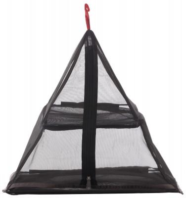 Полка для палатки OutventureПодвесная полка для размещения вещей в палатке. Пирамидальная форма, изготовлена из сетки.<br>Пол: Мужской; Возраст: Взрослые; Вид спорта: Кемпинг, Походы; Материалы: 100 % полиэстер; Размеры (дл х шир х выс), см: 40 х 40 х 40; Вес, кг: 0,4; Производитель: Outventure; Артикул производителя: T00399; Срок гарантии: 2 года; Страна производства: Китай; Размер RU: Без размера;