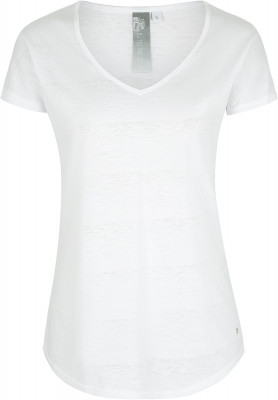Футболка женская Luhta Fransiska, размер 54Футболки<br>Практичная футболка от luhta прекрасно подойдет для летних путешествий. Свобода движений свободный крой не стесняет движения.