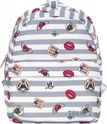 Рюкзак TermitУдобный и оригинальный рюкзак от termit отлично подойдет как для прогулок по городу, так и для путешествий. В модели предусмотрены удобные регулируемые лямки.<br>Пол: Мужской; Возраст: Взрослые; Вид спорта: Путешествие; Объем: 7 л; Размеры (дл х шир х выс), см: 24 x 30 x 10; Водоотталкивающая пропитка: Да; Количество карманов: 1; Выход для наушников: Нет; Отделение для ноутбука: Нет; Количество отделений: 1; Производитель: Termit; Артикул производителя: ATERSU02WA; Страна производства: Китай; Материал верха: 100 % полиэстер; Материал подкладки: 100 % полиэстер; Размер RU: Без размера;