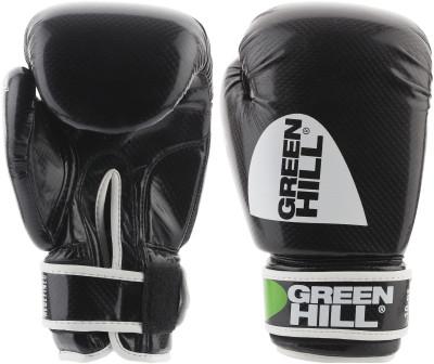 Перчатки боксерские Green Hill DragonБоксерские перчатки выполнены из прочного материала, обеспечивающего продолжительный срок службы изделия. Отверстия на ладони гарантирую отличную вентиляцию.<br>Вес, кг: 12 oz; Тип фиксации: Липучка; Материал верха: Искусственная кожа; Вид спорта: Бокс; Производитель: Green Hill; Артикул производителя: BGD-2056; Срок гарантии: 3 месяца; Страна производства: Пакистан; Размер RU: 12 oz;