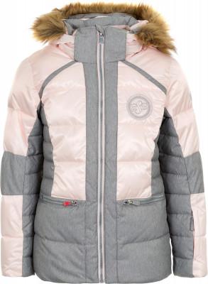 Купить со скидкой Куртка пуховая для девочек Glissade, размер 140