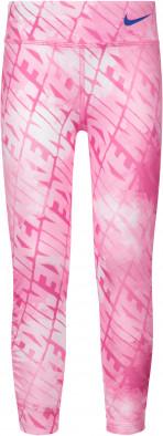 Легинсы для девочек Nike Dri-FIT Watercolor AOP