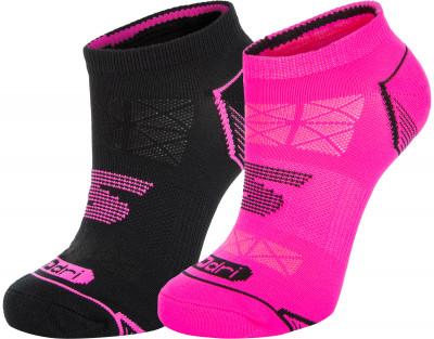 Носки женские Skechers, 2 парыУдобные мягкие носки от skechers. Носки хорошо сидят по ноге и приятны на ощупь. В комплекте 2 пары.<br>Пол: Женский; Возраст: Взрослые; Вид спорта: Тренинг; Плоские швы: Да; Светоотражающие элементы: Нет; Дополнительная вентиляция: Да; Компрессионный эффект: Нет; Производитель: Skechers; Артикул производителя: S111050; Страна производства: Китай; Материалы: 73 % нейлон, 23 % полиэстер, 2 % резина, 2 % спандекс; Размер RU: 35-39;