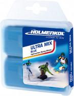 Мазь скольжения твердая для лыж и сноубордов HOLMENKOL Ultra Mix Blue