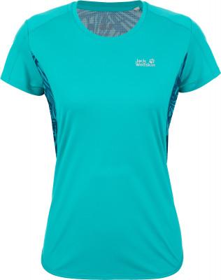 Футболка женская JACK WOLFSKIN Wilderness, размер 50Футболки<br>Технологичная влагоотводящая футболка jack wolfskin станет отличным выбором для походов и активного отдыха.