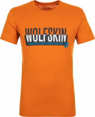 Футболка мужская JACK WOLFSKIN Slogan, размер 54-56