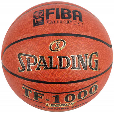 Мяч баскетбольный Spalding TF-1000 Legacy FIBAПрофессиональный мяч для проведения официальных соревнований высокого уровня, а также для тренировок и игр профессиональных команд: новая технология производства материала z<br>Сезон: 2015; Возраст: Взрослые; Вид спорта: Баскетбол; Тип поверхности: Для зала; Назначение: Профессиональные; Материал покрышки: Композитная кожа; Материал камеры: Бутил; Способ соединения панелей: Клееный; Количество панелей: 8; Вес, кг: 0,569-0,61; Технологии: ZK Composite; Производитель: Spalding; Артикул производителя: 74-450Z; Страна производства: Китай; Размер RU: Без размера;