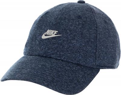 Бейсболка Nike Sportswear Heritage86Кепка nike sportswear heritage86 с классической конструкцией из шести панелей обеспечивает комфорт и удобство.<br>Пол: Мужской; Возраст: Взрослые; Вид спорта: Тренинг; Производитель: Nike; Артикул производителя: 891287-473; Страна производства: Китай; Материал верха: 60 % хлопок, 40 % полиэстер; Размер RU: Без размера;