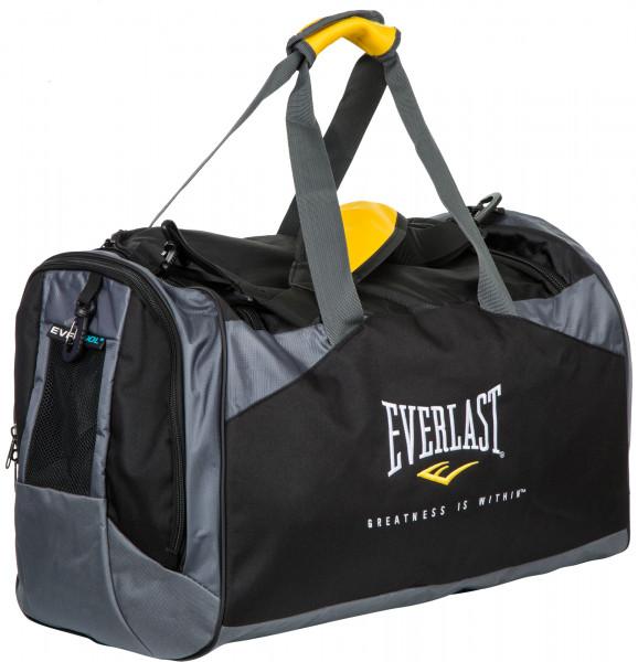 Сумка Everlast черный серый цвет - купить за 4999 руб. в интернет-магазине  Спортмастер f24cb70708a