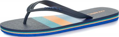 Шлепанцы мужские ONeill Fm, размер 44Шлепанцы <br>Легкие шлепанцы от o neill станут отличным выбором для пляжного отдыха. Комфорт использование современных материалов делает шлепанцы максимально легкими и удобными.