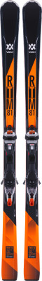Горные лыжи Volkl RTM 81 + iPT WR XL 12 TCX GW