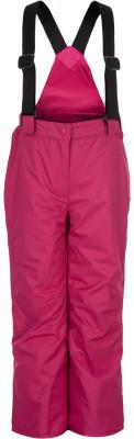 Брюки утепленные для девочек GlissadeПрактичные брюки для девочек от glissade подойдут для катания на горных лыжах.<br>Пол: Женский; Возраст: Дети; Вид спорта: Горные лыжи; Вес утеплителя на м2: 100 г/м2; Наличие мембраны: Да; Водонепроницаемость: 3000 мм; Защита от ветра: Да; Силуэт брюк: Свободный; Дополнительная вентиляция: Нет; Проклеенные швы: Да; Снегозащитные гетры: Да; Регулируемый пояс: Да; Съемные подтяжки: Да; Датчик спасательной системы: Нет; Водонепроницаемые молнии: Нет; Артикулируемые колени: Да; Технологии: IsoDry, Isoloft; Производитель: Glissade; Артикул производителя: SPAG008211; Страна производства: Китай; Материал верха: 100 % полиэстер; Материал подкладки: 100 % полиэстер; Материал утеплителя: 100 % полиэстер; Размер RU: 116;