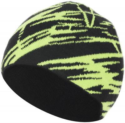 Шапка для мальчиков GlissadeУдобная теплая вязаная шапка со стильным жакардом для мальчиков 6-12 лет с добавлением шерсти. Отличная посадка.<br>Пол: Мужской; Возраст: Дети; Вид спорта: Горные лыжи; Производитель: Glissade; Артикул производителя: SHAB02G254; Страна производства: Россия; Материал верха: 70 % акрил, 30 % Шерсть; Размер RU: 54-56;