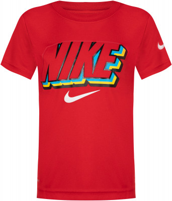Футболка для мальчиков Nike Block Knockout, размер 104
